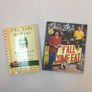 Paula Deen and Sons Cookbooks Country Food Recipes